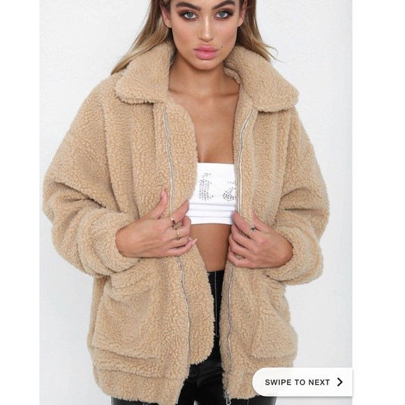 best price new styles lace up in I.AM.GIA Teddy Jacket Pixie Coat